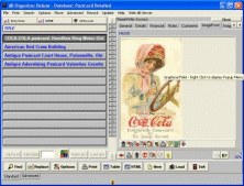 Postcard Organizer Deluxe Screenshot 1