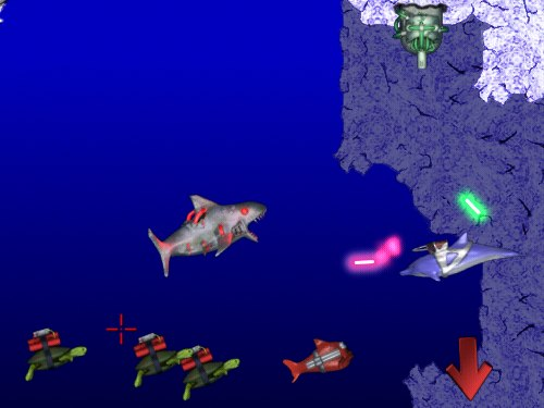 Laser Dolphin (for Mac) Screenshot