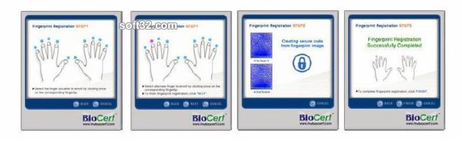 BioCert Authenticator Lite Edition 10 Users Screenshot 2