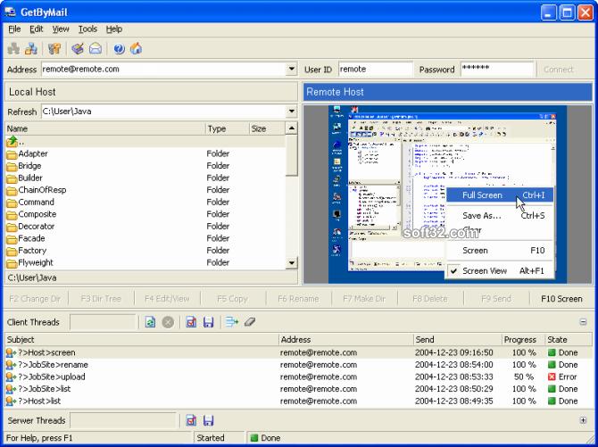GetByMail Screenshot 3