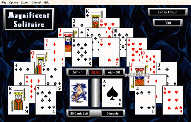 Magnificent Solitaire Screenshot