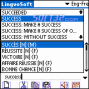 LingvoSoft Talking Dictionary English <-> French for Palm OS 3
