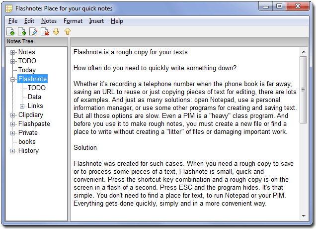 Flashnote Screenshot