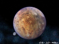 Planet Pluto 3D Screensaver 2