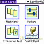 LingvoSoft FlashCards English <-> Hungarian for Palm OS 3