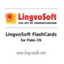 LingvoSoft FlashCards English <-> Serbian for Palm OS 1