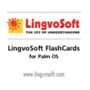LingvoSoft FlashCards German <-> French for Palm OS 1