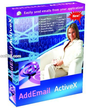 Add Email ActiveX Professional Screenshot 2