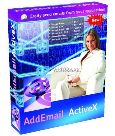 Add Email ActiveX Enterprise Screenshot 2