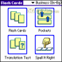 LingvoSoft FlashCards English <-> Bulgarian for Palm OS 2