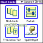 LingvoSoft FlashCards English <-> Bosnian for Palm OS 2