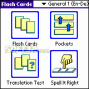 LingvoSoft FlashCards English <-> German for Palm OS 2