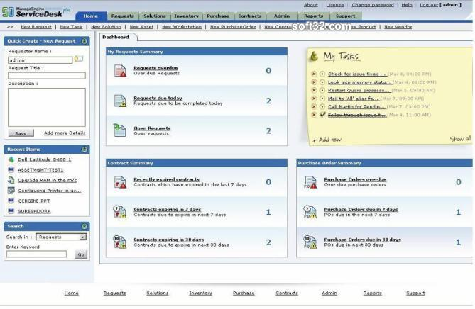 ManageEngine ServiceDesk Plus Screenshot 2