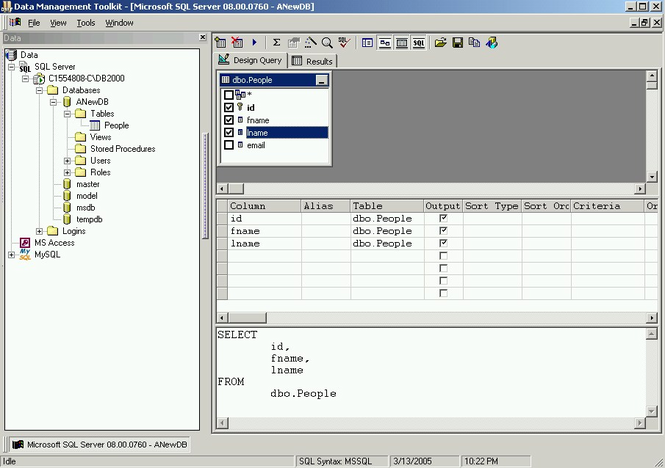 Data Management Toolkit Screenshot