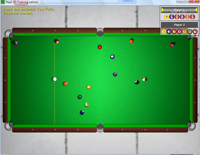 Pool 3D Training Edition Screenshot 2