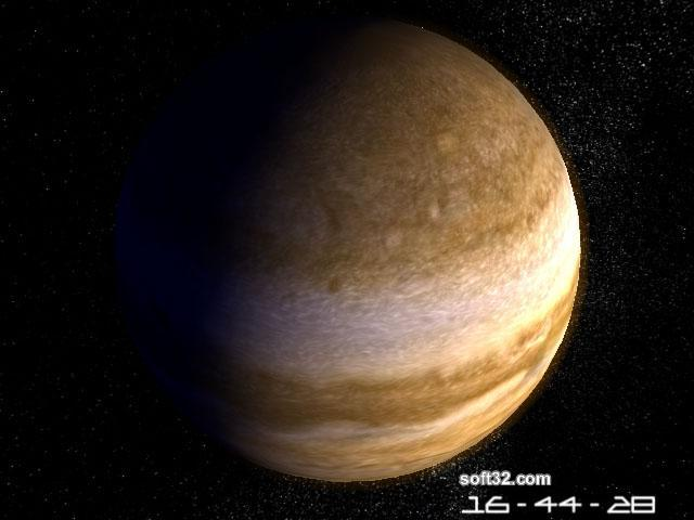 Planet Jupiter 3D Screensaver Screenshot 3