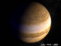 Planet Jupiter 3D Screensaver 1