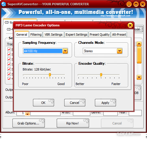 SuperAVConverter Screenshot 3