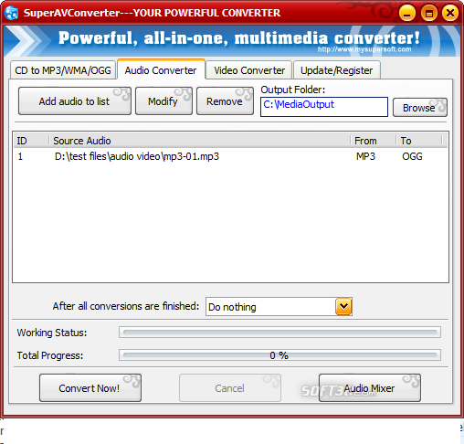 SuperAVConverter Screenshot 4