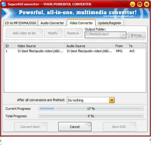 SuperAVConverter Screenshot 6