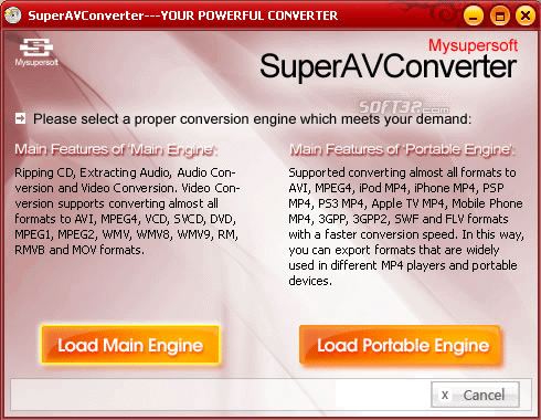 SuperAVConverter Screenshot 2