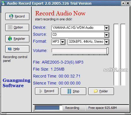 Audio Record Expert Screenshot 3