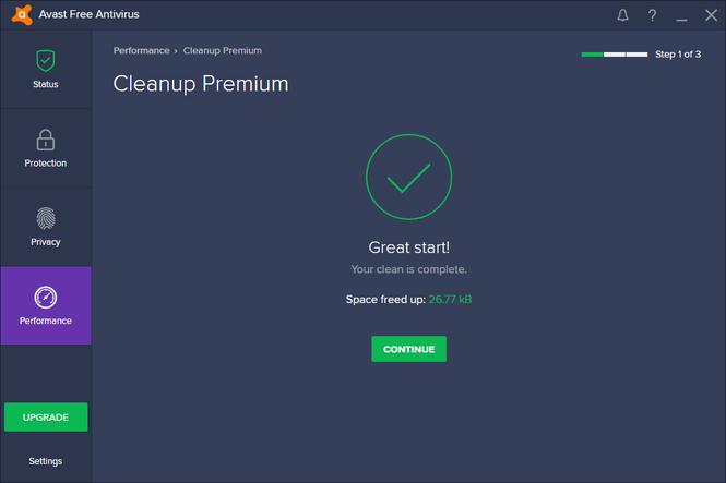 avast! Free Antivirus 2017 Screenshot 2