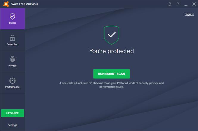 avast! Free Antivirus 2017 Screenshot 4