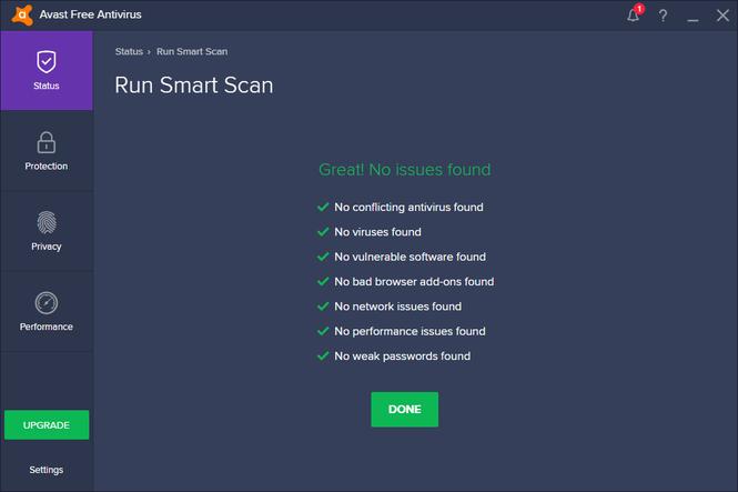 avast! Free Antivirus 2017 Screenshot 7