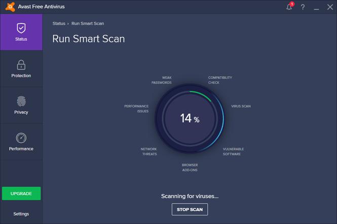 avast! Free Antivirus 2017 Screenshot 6