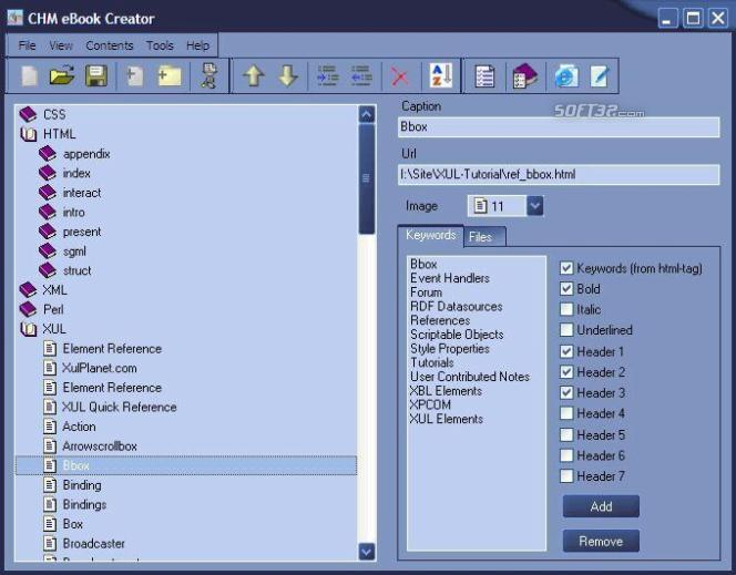 Abee Chm eBook Creator Screenshot 3