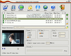 Allok AVI to DVD SVCD VCD Converter Screenshot 3