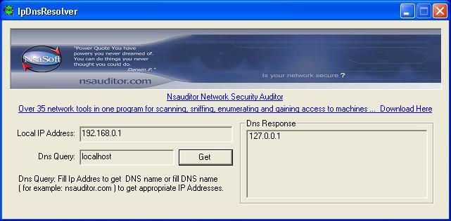 IpDnsResolver Screenshot