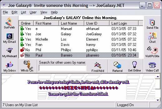 Joe Galaxy®.NET Screenshot