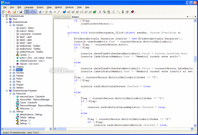Dis# - .NET decompiler Screenshot 4