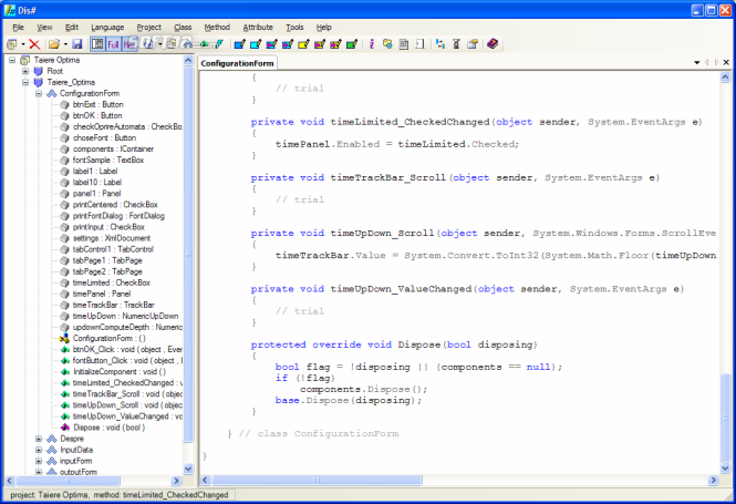 Dis# - .NET decompiler Screenshot 5