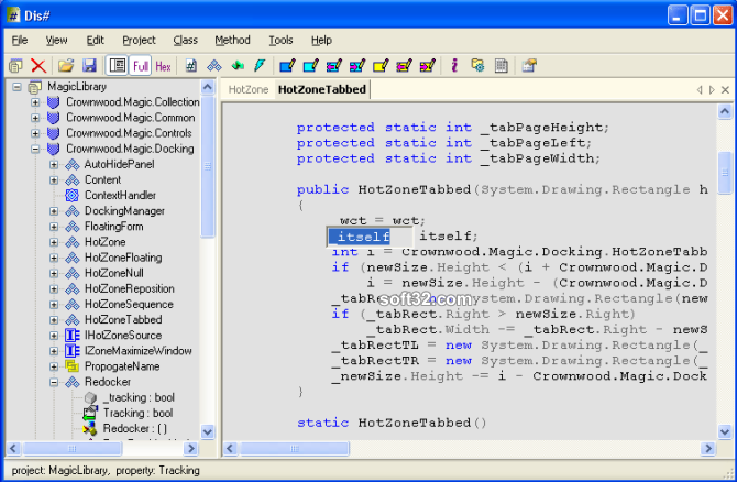 Dis# - .NET decompiler Screenshot 3