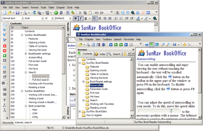 SunRav BookOffice Screenshot 1
