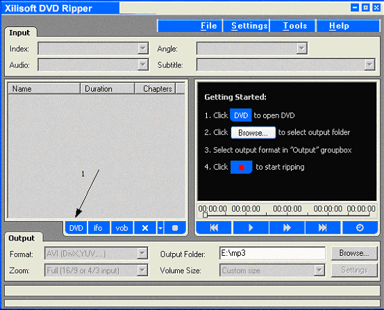3x DVD Ripper Screenshot 1