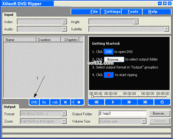 3x DVD Ripper Screenshot 3