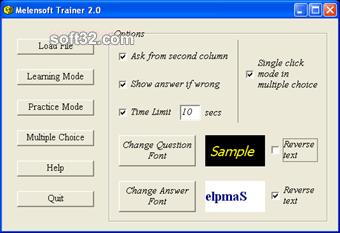 Melensoft Trainer Screenshot 3