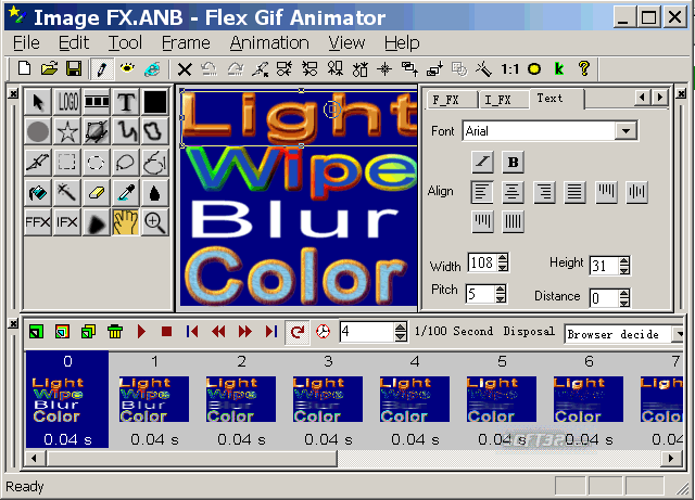 Flex GIF Animator Screenshot 3