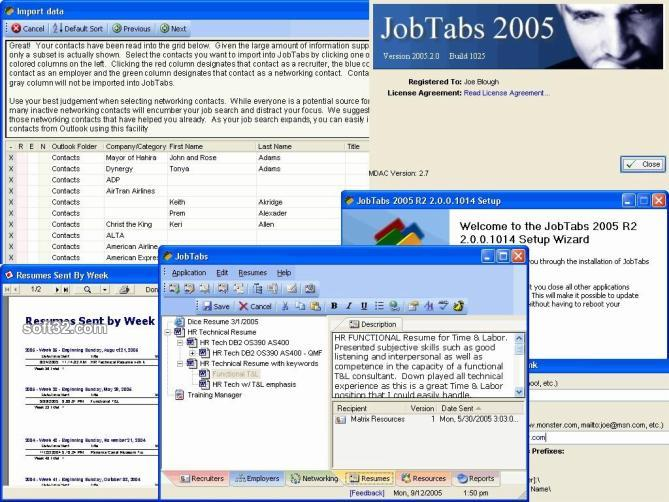 JobTabs Job Search and Resume Screenshot 3