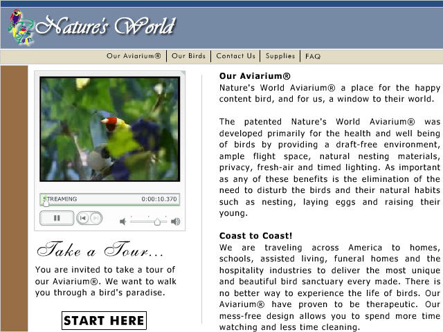 Bird Cages / Aviary Designer Screenshot