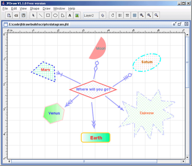 JFDraw Screenshot