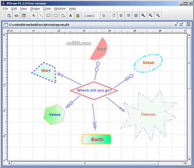 JFDraw Screenshot 2