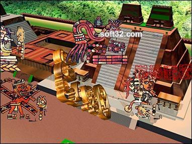 Maya Mania 3D Screensaver Screenshot 3