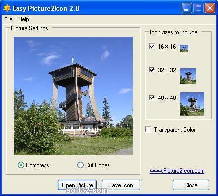 Easy Pictrue2Icon Screenshot 3
