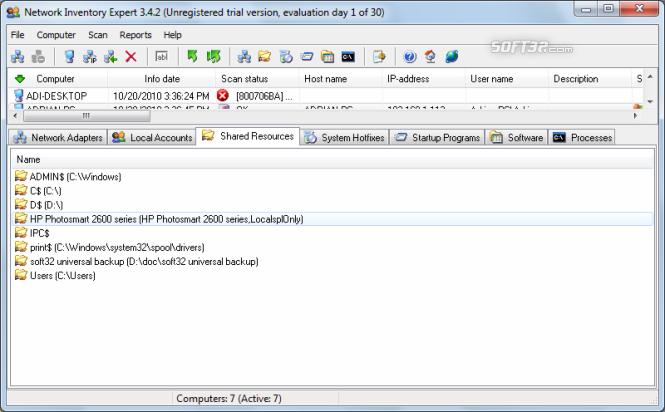 Network Inventory Expert Screenshot 4
