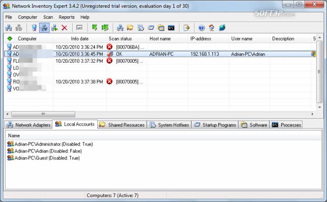 Network Inventory Expert Screenshot 5